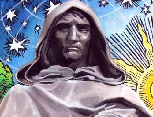 """Giordano Bruno: """"LA MATERIA E' PENSIERO"""""""